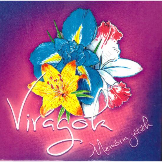 Virágok-Memóriakártya