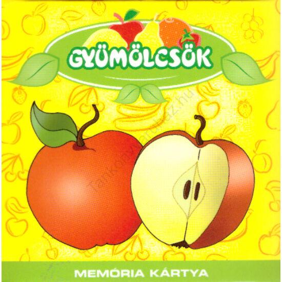 Gyümölcsök-Memóriakártya