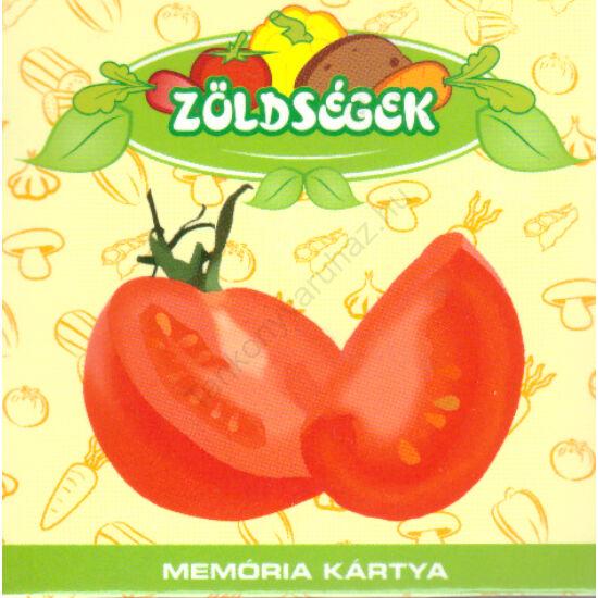 Zöldségek-Memóriakártya