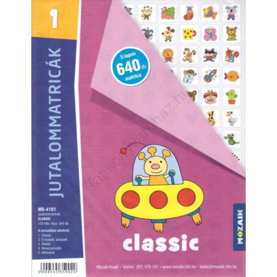Jutalommatricák -Classic (MS-4181)