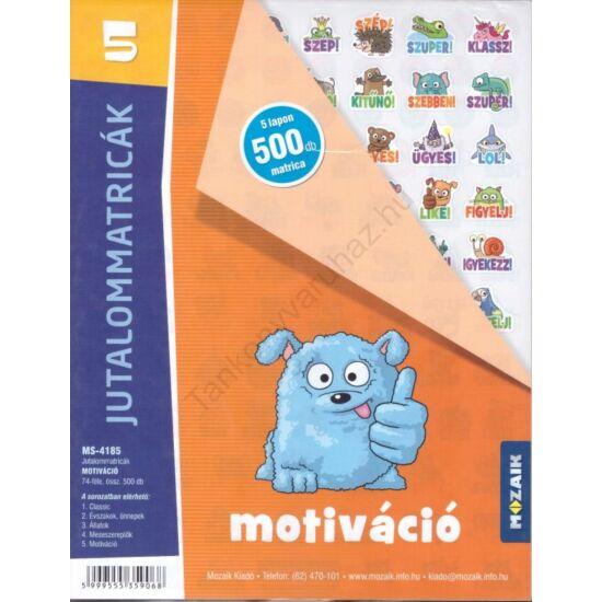 Jutalommatricák - Motiváció (MS-4185)