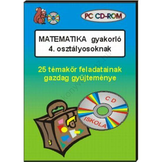 Matematika gyakorló 4. osztályosoknak, CD-ROM