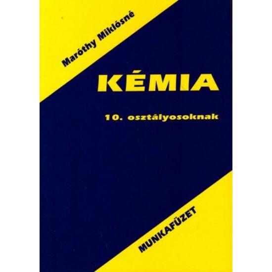 Kémia munkafüzet 10. (KT-0109)