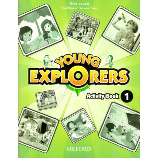 Young Explorers 1 Activity Book (OX-4027656)