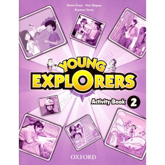 Young Explorers 2 Activity Book (OX-4027663)