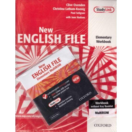 New English File Elementary Workbook  (OX-4501057)