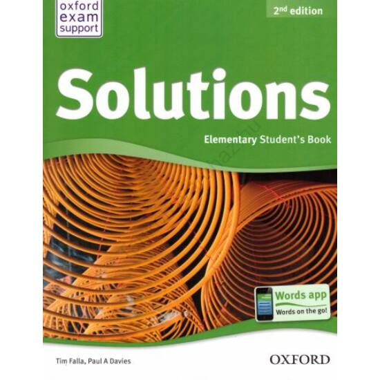 Solutions 2Nd Ed. Elementary Student's Book
