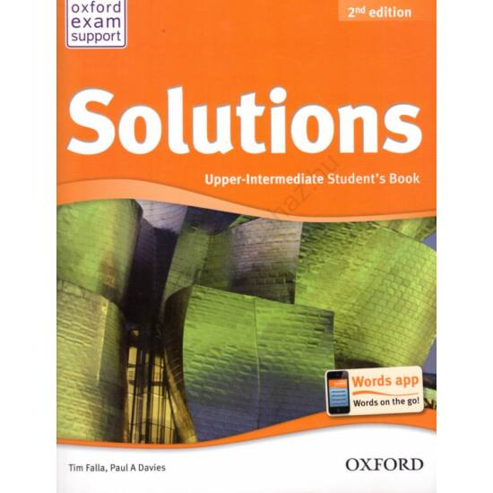 Solutions 2Nd Ed. Upper-Intermediate Student's Book