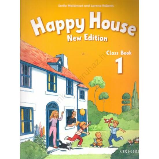 Happy House  1. New edition Class Book (OX-4730532)