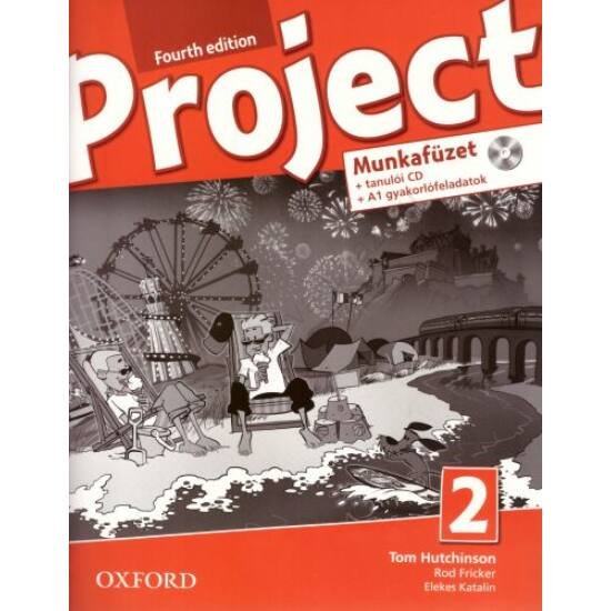 Project 2. Fourth Edition munkafüzet  (OX-4764919)