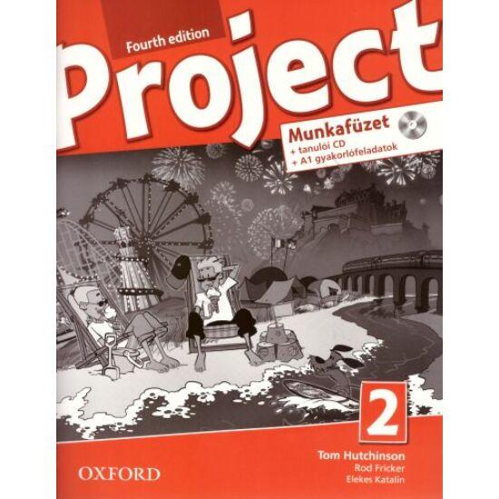 Project 2. Fourth Edition munkafüzet  (OX-4764919)