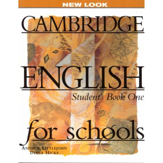 Cambridge English For Schools 1 Student's Book One