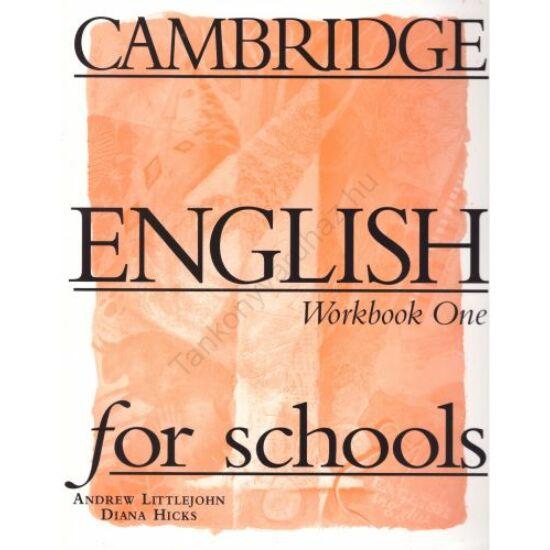 Cambridge English For Schools 1 Workbook One