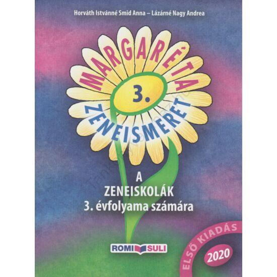 Margaréta -Zeneismeret 3. (RO-MOK/3)