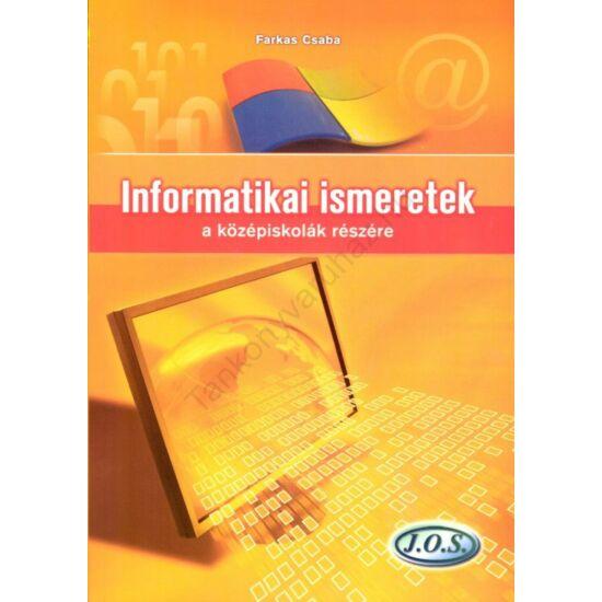 Informatikai ismeretek a középiskolák részére (JO-0153)