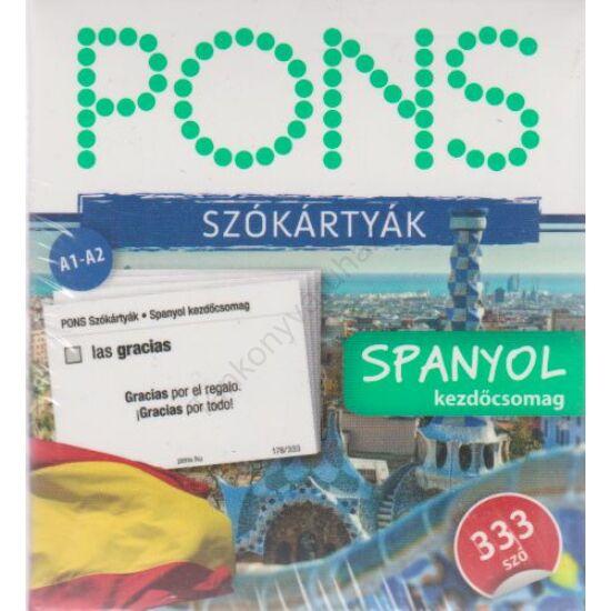 PONS-333 SZÓKÁRTYA – Spanyol kezdő
