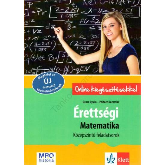 Érettségi matematikából - középszintű feladatsorok
