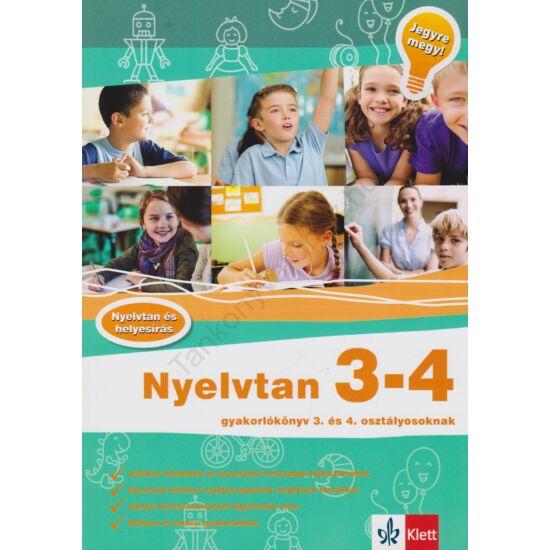 Jegyre megy! - Nyelvtan 3-4.  gyakorlókönyv 3-4. osztályos tanulóknak