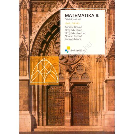 Matematika 6. Bővített változat (MK-4198-8)