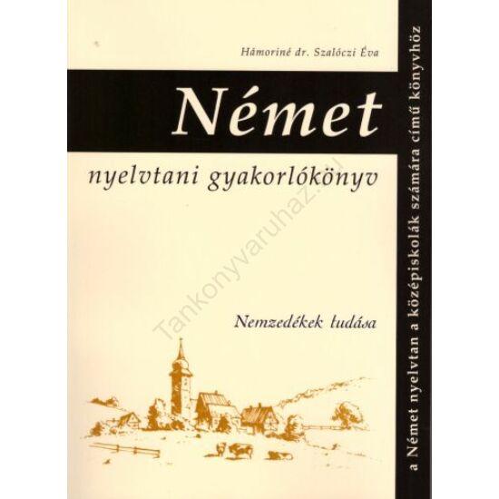 Német nyelvtani gyakorlókönyv (NT-81366)