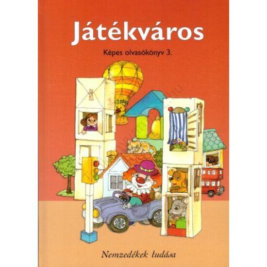 Játékváros - Képes olvasókönyv (NT-98581)