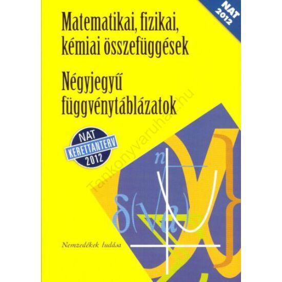 Négyjegyű függvénytáblázatok (NT-15129/NAT)