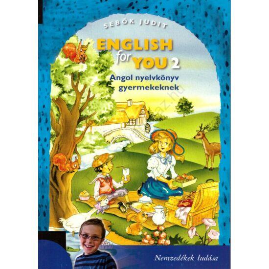 English for You 2. tankönyv (NT-56473/1)