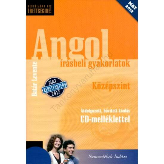 Angol (érettségi) írásbeli  feladatsorok -Középszint  (NT-56488/NAT)