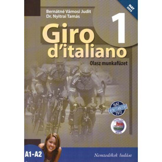Giro d'italiano 1 - Olasz munkafüzet (NT-56551/M/NAT)