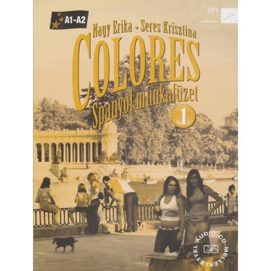 Colores 1. Spanyol munkafüzet (NT-56496/M/NAT)