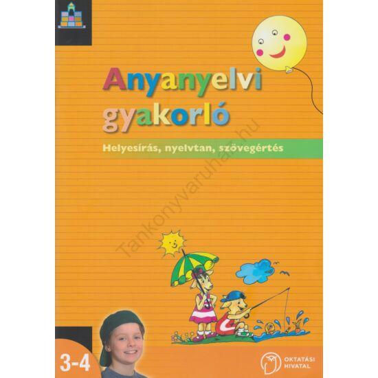 Anyanyelvi gyakorló 3-4. (NT-00361-461/F/NAT)
