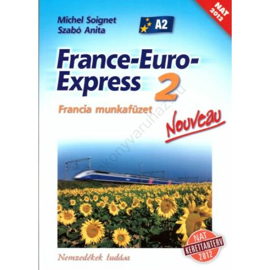 France-Euro-Express 2. munkafüzet (NT-13298/M/NAT)