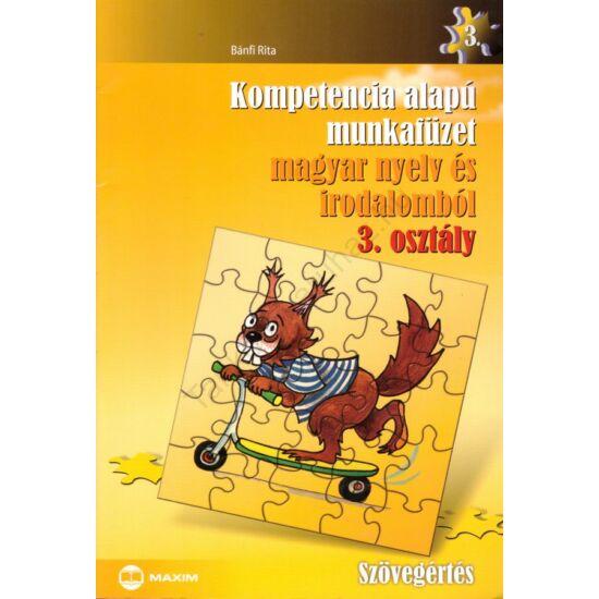 Kompetencia alapú munkafüzet magyar nyelv és irodalomból  3. (MX-314)