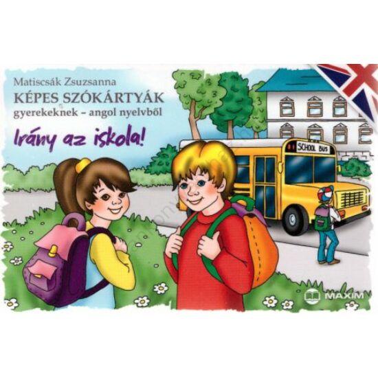 Irány az iskola! - Képes szókártyák