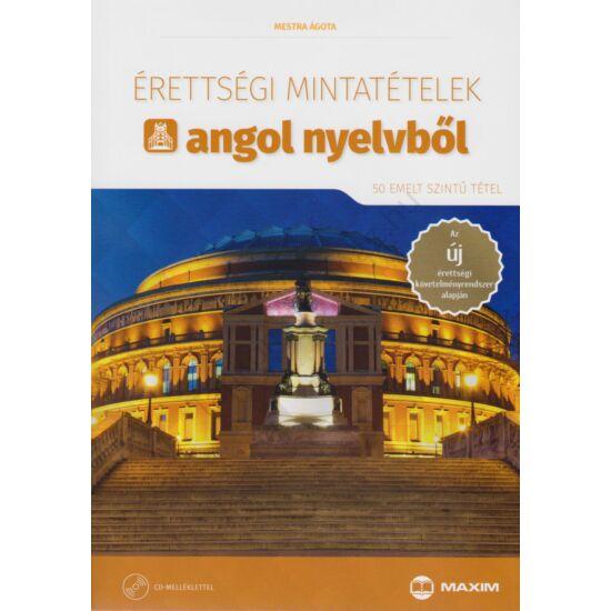 Érettségi mintatételek angol nyelvből (50 emelt szintű tétel) CD-melléklettel (MX-1165)