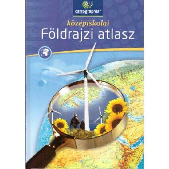 középiskolai Földrajzi atlasz (CR-0032)