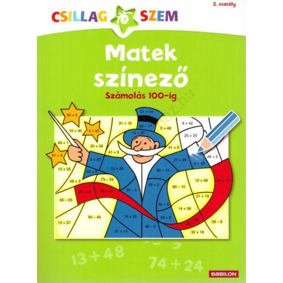 Matek színező - Számolás 100-ig