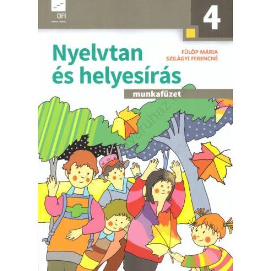 Nyelvtan és helyesírás munkafüzet 4. évfolyam (AP-040308)
