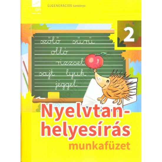 Nyelvtan-helyesírás 2. munkafüzet  (FI-501010202/1)