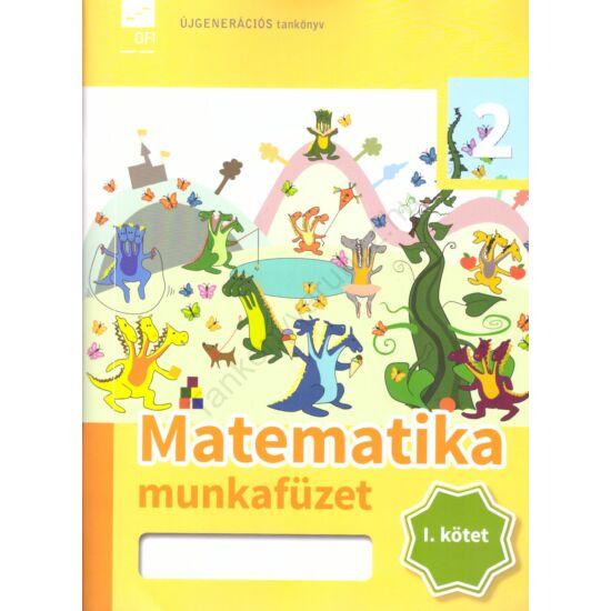 Matematika 2. munkafüzet I. kötet (FI-503010203/1)