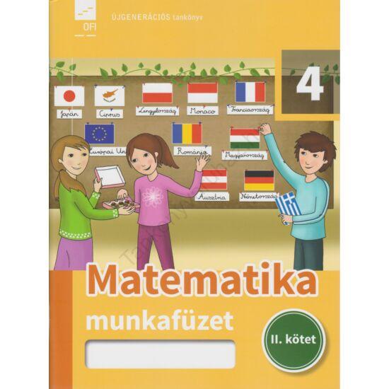 Matematika 4. munkafüzet II. kötet (FI-503010403/1)