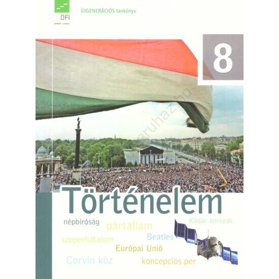 Történelem 8. tankönyv (FI-504010801/1)