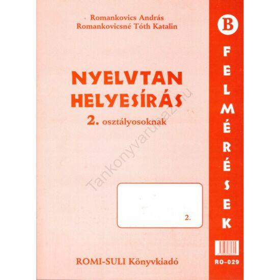 Nyelvtan, helyesírás 2. osztály (RO-029)