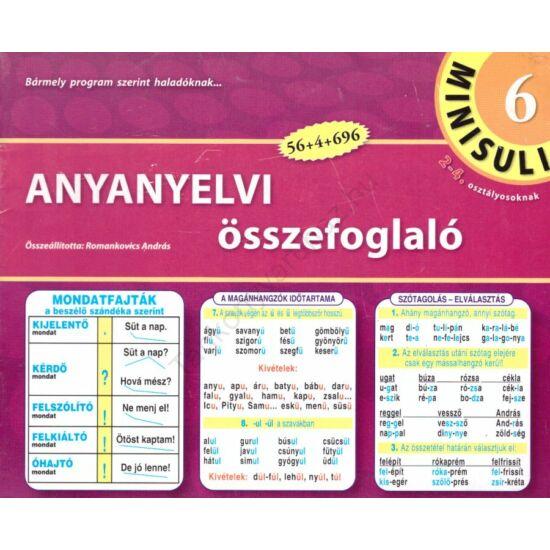 Anyanyelvi összefoglaló (RO-806)