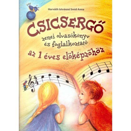 Csicsergő Zenei előképző Olvasókönyv az 1 éves előképzőhöz (RO-ZOK)