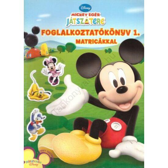 Mickey egár játszótere - Foglalkoztatókönyv 1.