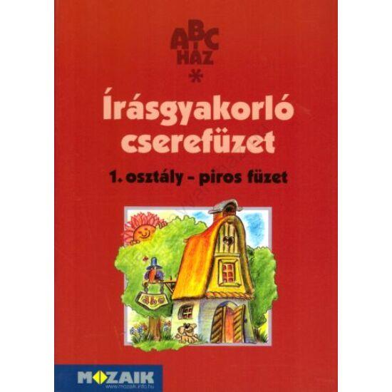 Írásgyakorló cserefüzet 1. - Piros füzet  (MS-1490U)