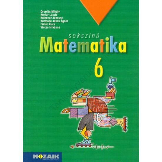 Sokszínű matematika 6.tankönyv (MS-2306)