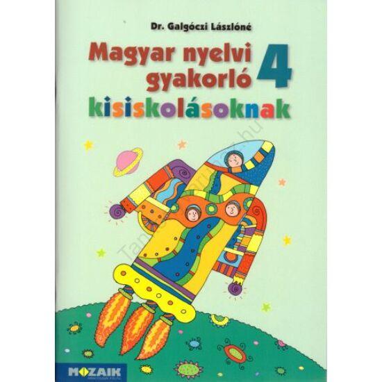 Magyar nyelvi gyakorló kisiskolásoknak 4. (MS-2508)