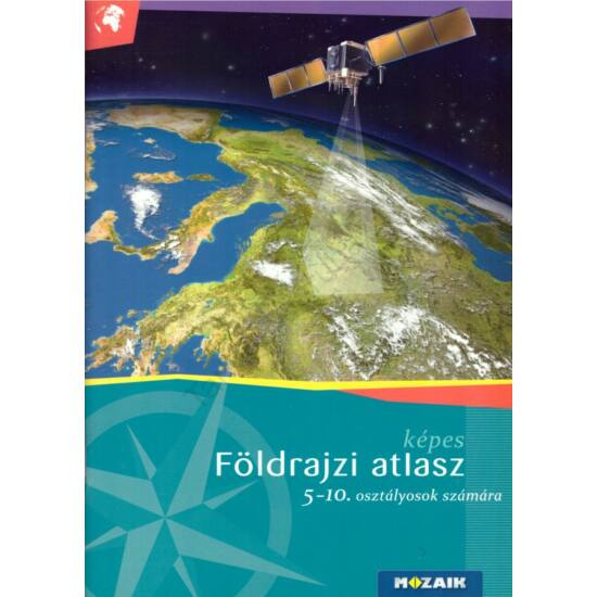 képes Földrajzi atlasz 5-10. osztályosok számára (MS-4105U)